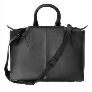 Alexander Wang Prisma Leather Black Strap Bag